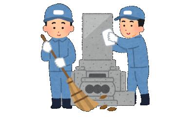 【R-1】お墓掃除代行サービス