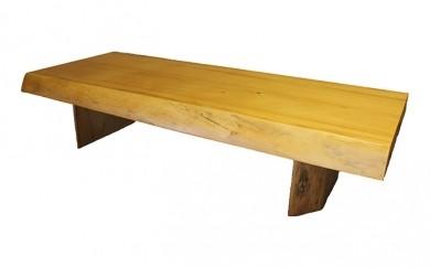 [№5723-0055]アカエゾマツ一枚天板(約9.5cm)座卓