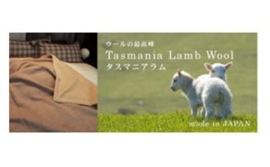 100-001 タスマニアウールとオーガニックコットンリバーシブル毛布