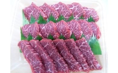 [№5787-0041]5等級 飛騨牛モモ又はカタ肉 焼肉用 約350g