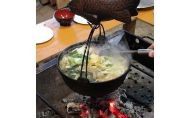 【E1-001】しし鍋作り体験(体験交流型メニュー)