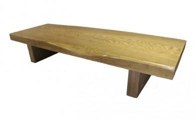 [№5723-0054]埋もれ木一枚天板(約8cm)座卓〔楡2〕