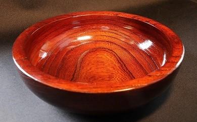 [№5691-0102]小田原漆器 1尺2寸 こね鉢 (木鉢)