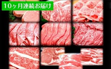 [№5761-0128]田子牛・田子豚まるごと食べ尽くし 10ヶ月連続お届け