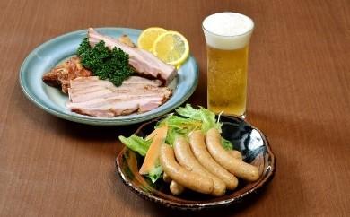 26-1 国産豚肉使用ウィンナー・ベーコンセット 計950g