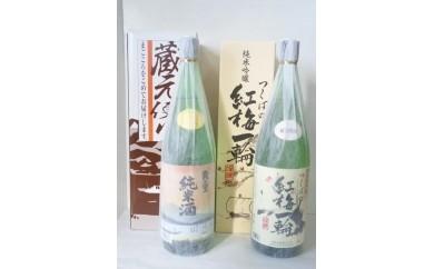 (30) つくばの紅梅一輪・ 霞の里純米酒