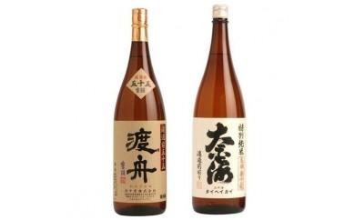 (28) 渡舟 純米吟醸・太平海特別純米セット(平成30年1月下旬以降発送)