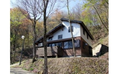 E-1 キャンプ場「伐株山憩いの森」 コテージ1泊2日使用券