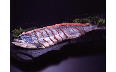 [A30-026]ひぐまも喜ぶ!新巻鮭(切身4分割)