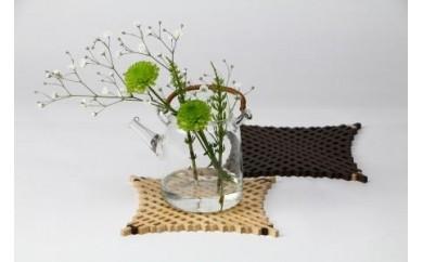 B48112 本荘組子「花瓶敷き」