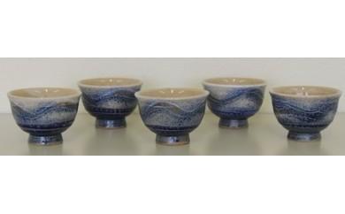 【161】 瀬山焼 銀河 煎茶碗