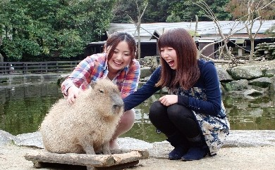 A-23長崎バイオパーク 入園券+商品券セット