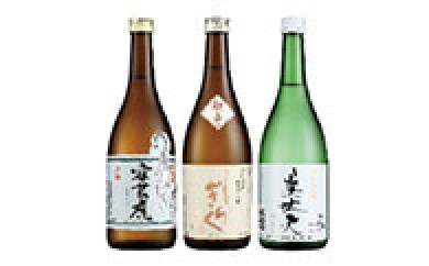 U602 東部蔵元 純米酒のみ比べセット【340p】