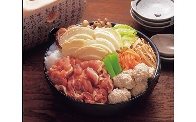 B-5 八戸せんべい汁/青森シャモロックせんべい鍋B