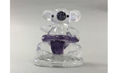 可児ガラス工房オリジナル おすもうさんコアラ(ガラス製)