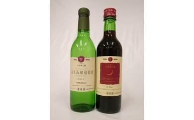【016】 大迫エーデルワイン 赤白ハーフワインセット