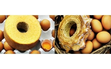 【056】 イーハトーブのお菓子な木やわらかバウム&イギリス海岸ハードバウム