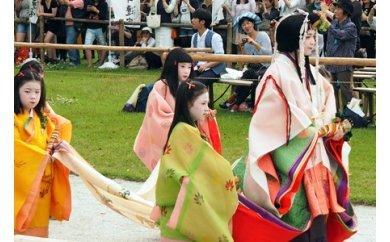 フタバアオイオーナー・葵祭特別観覧