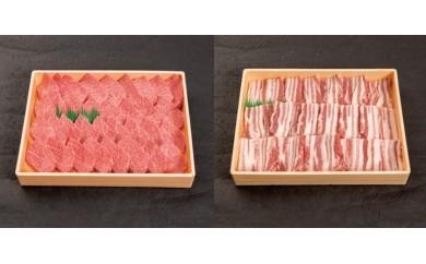 g10 宮崎牛・豚焼肉セット【1036281】