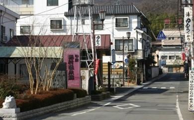 [№5760-0044]湯村温泉ご利用券A5