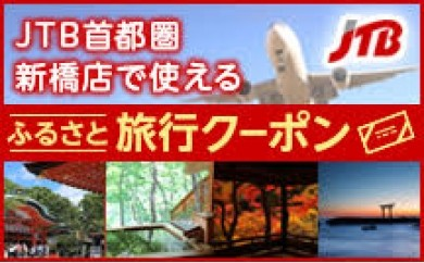 JMET01 JTB首都圏新橋店で使えるふるさと旅行クーポン4.000点分【25p】