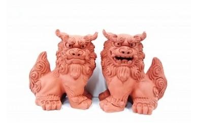 中城窯 朝日陶器 手造りシーサー 大立