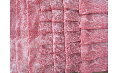 D-7.米沢牛すき焼き用・焼き肉用・しゃぶしゃぶ用セット