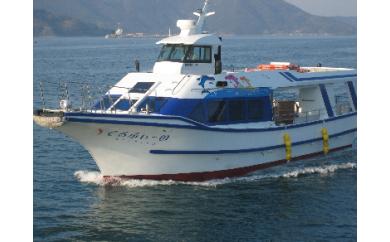E-090 遊覧船でるふぃーの 貸切乗船券