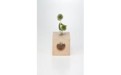 【A073】珪藻土ブロック 花器仕様
