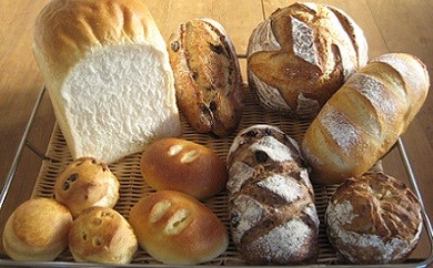 【Bコース】 自家製レーズン酵母のパンセットⅡ(食パン5枚切り)