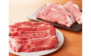 【T020】 57J016 飛騨牛サーロイン&すき焼き用