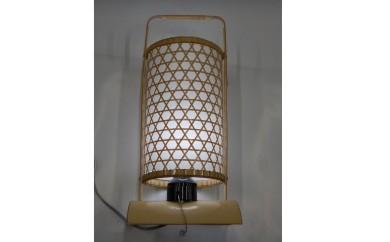 C802 竹工芸品 竹灯り