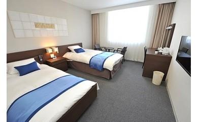 バリアフリーホテルあすなろ 宿泊券 エコノミールーム(大人1名シングル1泊2日 2食付)