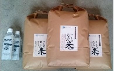 D-10 特別栽培米 海と天地のめぐみ米セット 10kg×3袋