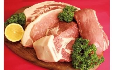 C-4 鳥取の豚「とっトン」ゴロっとブロック肉詰合せ