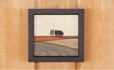 [030-12]貴妃花 木製品「新栄の丘」