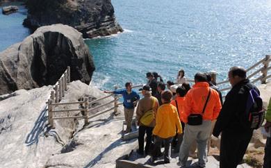 堂ヶ島ジオガイドツアーと自然工作体験