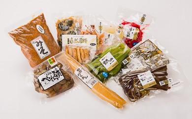 1-(15)季節の漬物&天然醸造味噌詰め合せセット