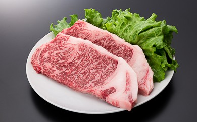 2-(3)【A4ランク以上】山形牛サーロインステーキ(360g)