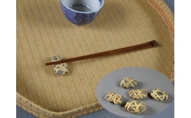 角箸と箸置きセット