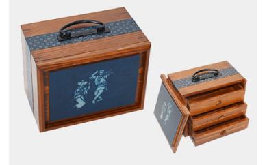 012-002 遊山箱(阿波おどり)