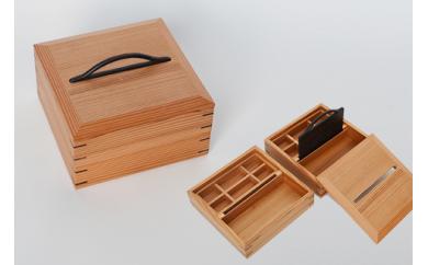 022-001 宝石箱(アクセサリー箱)