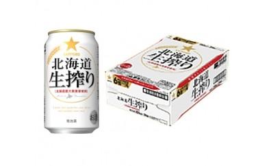 A03:【素材のうまみ】サッポロビール 北海道生搾り・350ml×1ケース(24缶)