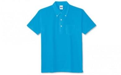 MJ02 半袖ボタンダウンポロシャツ(左胸ポケット付) 【10,000pt】