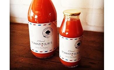 010035. ひろせ農園の完熟トマトジュース(通年発送)