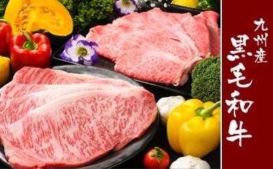 G1-H 九州産黒毛和牛満足セット(サーロインステーキ250g×7枚、ローススライス1400g)【チルド(冷蔵)でお届け】