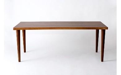 【F023】今から作る自由なサイズのウォールナット材のダイニングテーブル(幅120~140まで)【2750pt】