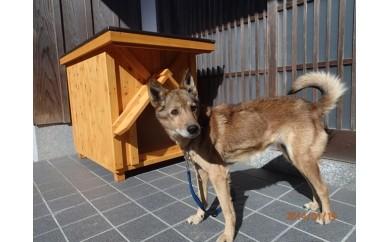 KS-02高知県産杉の犬小屋(中)・四国犬コース