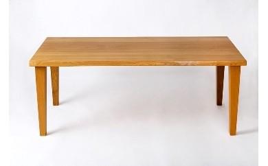 【F017】今から作る自由なサイズのナラ材のダイニングテーブル(幅120~140まで)【2850pt】