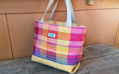 [№5745-0102]さをり織り トートバッグ